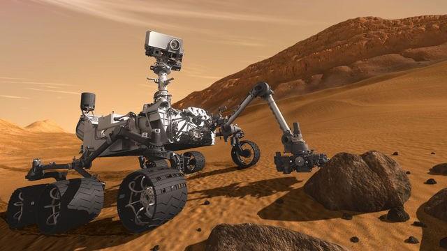 100 giorni alla partenza di Curiosity per Marte, la stella inghiottita dal buco nero e la missione spaziale europea JUICE